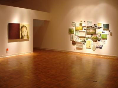 Picture of installation at CSUS Gallery